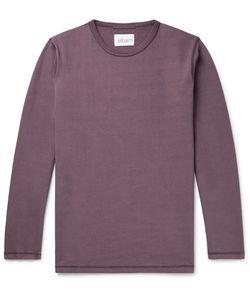 Albam   Cotton-Jersey Sweatshirt