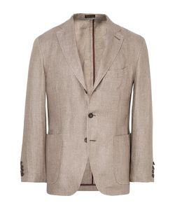 RUBINACCI | Slim-Fit Linen Blazer