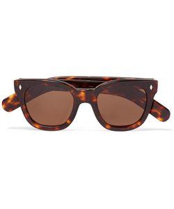 CUTLER & GROSS   Square-Frame Tortoiseshell Acetate Sunglasses