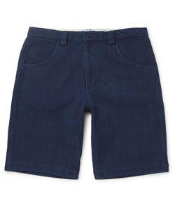 Blue Blue Japan | Sashiko-Stitched Cotton Shorts