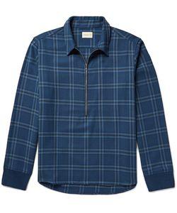 SIMON MILLER | Plaid Cotton-Twill Shirt