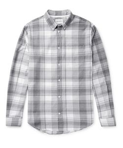 Norse Projects | Osvald Button-Down Collar Checked Cotton Shirt