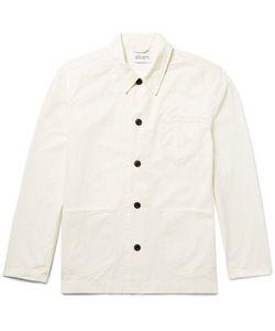 Albam   Loco Slim-Fit Cotton-Twill Chore Jacket