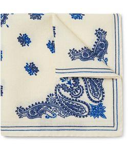 ALEX MILL | Paisley-Print Wool-Twill Pocket Square