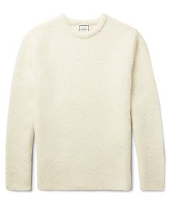 Wooyoungmi | Slim-Fit Ribbed Alpaca-Blend Sweater