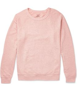 SAVE KHAKI UNITED | Mélange Loopback Cotton-Jersey Sweatshirt
