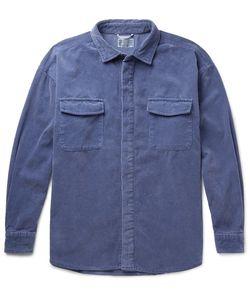 CAV EMPT | Oversized Cotton-Corduroy Overshirt