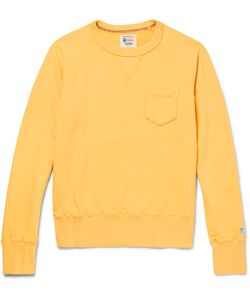 Todd Snyder + Champion | Loopback Cotton-Jersey Sweatshirt