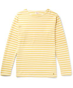 ARMOR LUX | Striped Cotton-Jersey T-Shirt
