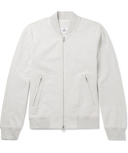 Reigning Champ | Loopback Cotton-Jersey Varsity Jacket