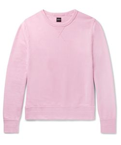 Albam | Garment-Dyed Loopback Cotton-Jersey Sweatshirt