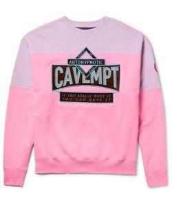CAV EMPT | Autohypnotic Appliquéd Loopback Cotton-Jersey Sweatshirt