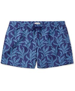 Club Monaco | Arlen Slim-Fit Mid-Length Printed Swim Shorts