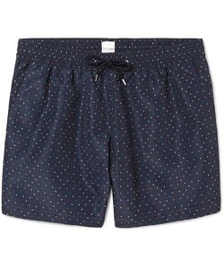 Paul Smith | Slim-Fit Mid-Length Polka-Dot Swim Shorts