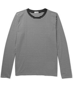 MARGARET HOWELL | Striped Cotton-Jersey T-Shirt