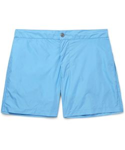 Officine Generale   Roman Slim-Fit Mid-Length Swim Shorts