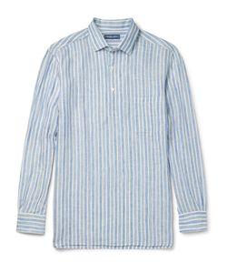 FRESCOBOL CARIOCA | Striped Linen Shirt