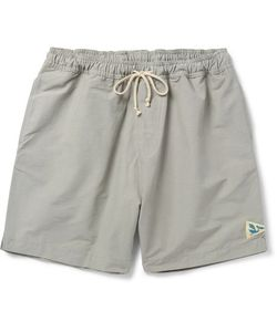 MOLLUSK | Mid-Length Cotton-Blend Faille Swim Shorts