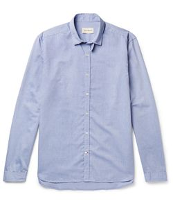 Oliver Spencer | Clerkenwell Tab-Collar Cotton Oxford Shirt