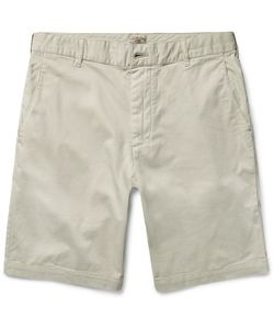 Faherty | Slim-Fit Stretch-Cotton Chino Shorts Off-