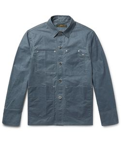 Freemans Sporting Club | Slim-Fit Waxed-Cotton Chore Jacket