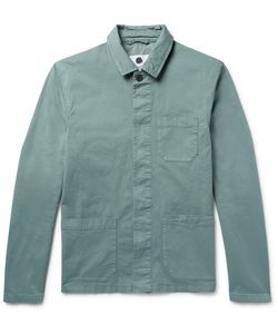 NN07 | Oscar Garment-Dyed Stretch-Cotton Twill Jacket