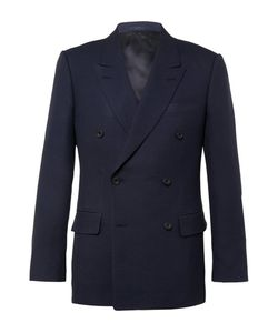 Kingsman | Harry Double-Breasted Wool And Mohair-Blend Hopsack Blazer