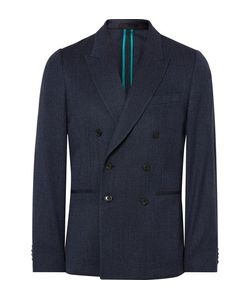 Paul Smith | Soho Slim-Fit Double-Breasted Wool-Blend Blazer