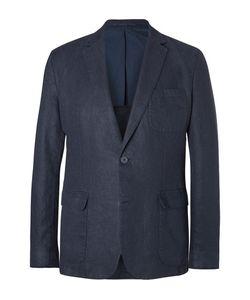 Orlebar Brown   Edgar Slim-Fit Unstructured Linen Blazer