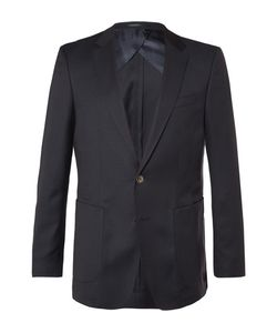 HUGO BOSS | Nordon Slim-Fit Birdseye Wool Blazer