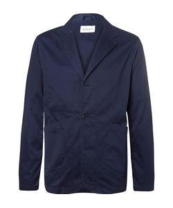 Albam   Unstructured Cotton-Twill Blazer