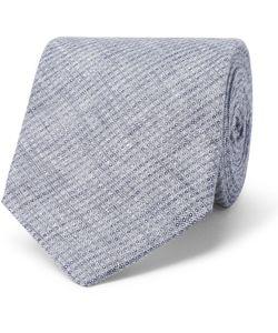 Oliver Spencer | Lydon Woven Linen Tie