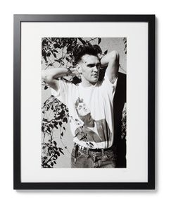 Sonic Editions | Framed Morrissey Print 16 X 20