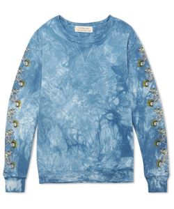 Remi Relief | Printed Tie-Dyed Loopback Cotton-Jersey Sweatshirt