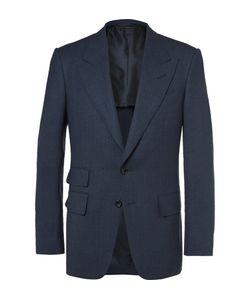 Tom Ford | Shelton Wool And Silk-Blend Blazer