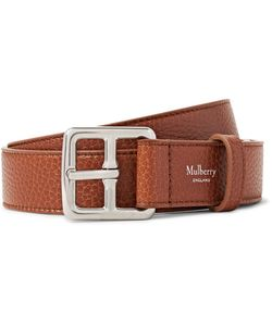 Mulberry | 3cm Boho Full-Grain Leather Belt