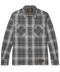 Neighborhood | Logger Slim-Fit Checked Cotton-Flannel Shirt