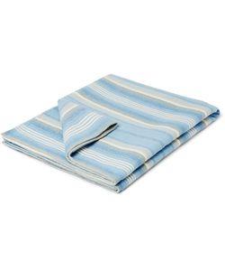 Faherty   Adirondack Brushed-Cotton Jacquard Blanket