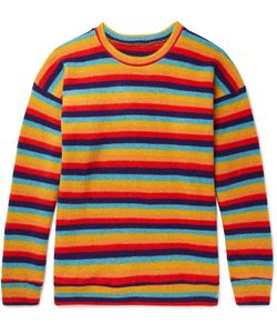 The Elder Statesman | Sunset Striped Cashmere Sweater