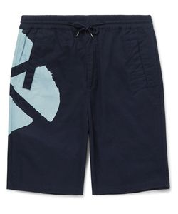 Folk | Goss Brothers Watercolour Printed Cotton-Twill Shorts