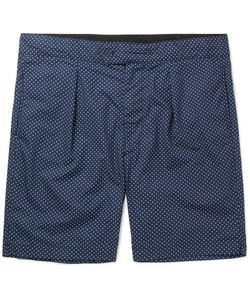 Engineered Garments | Sunset Slim-Fit Polka-Dot Cotton-Poplin Shorts