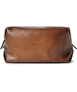 BERLUTI   Doudou Gm Polished-Leather Wash Bag