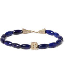 LUIS MORAIS | Lapis And Diamond Bracelet