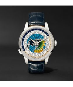Mont Blanc | Heritage Spirit Orbis Terrarum Latin Unicef 41mm Stainless Steel