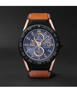 Kingsman | Tag Heuer Connected Modular 45mm Ceramic And Leather Smartwatch