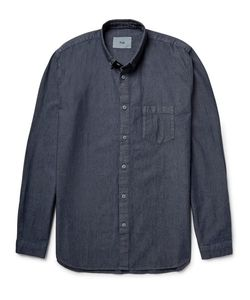 Folk | Button-Down Collar Cotton-Chambray Shirt