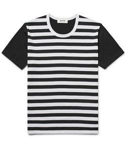 Aloye   Striped Cotton-Jersey T-Shirt