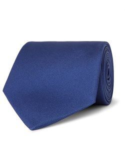 Emma Willis | 8cm Silk-Faille Tie