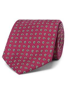 Kingsman | Drakes 8cm Paisley Silk-Jacquard Tie