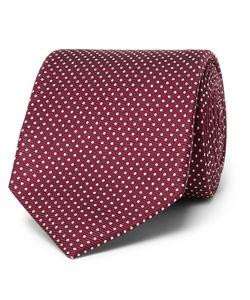 Kingsman | Drakes 8cm Pin-Dot Silk-Jacquard Tie